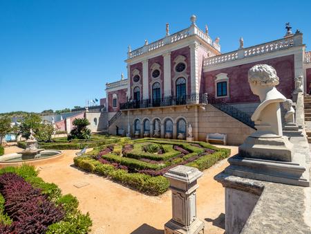 Neoclassical palace Pousada Palacio de Estoi, Algarve, Portugal