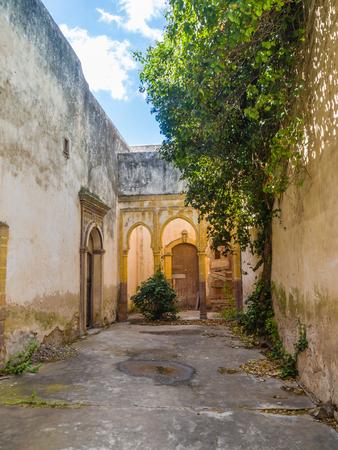 Ruins of Dar Caid Hajji's old mansion near Essaouira, Morocco