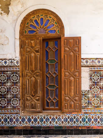 Ruins of Dar Caid Hajjis old mansion near Essaouira, Morocco
