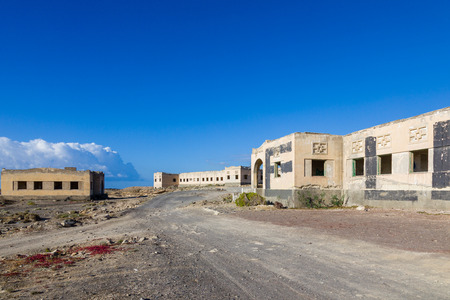 Pueblo fantasma de Abades - Unfinished project of hospital for lepers from r. 1,941th