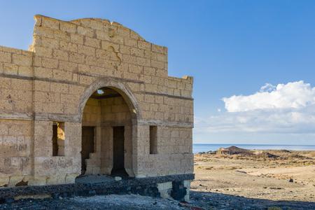 Pueblo fantasma de Abades - Progetto incompiuto di ospedale per lebbrosi da r. 1.941