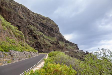 Mirador Punta de Teno on the west cape of Tenerife, Canary Islands, Spain 写真素材