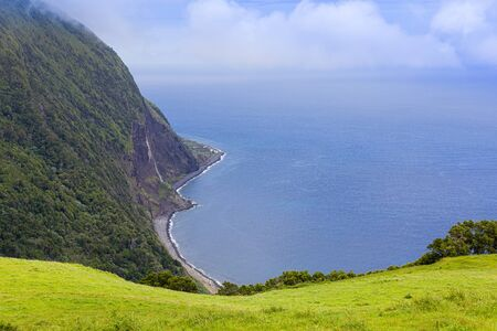 Landscape around Furnas, Sao Miguel Island, Azores archipelago, Portugal Stockfoto