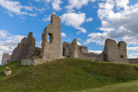 The ruins of the ancient castle Branc - Europe, Slovakia