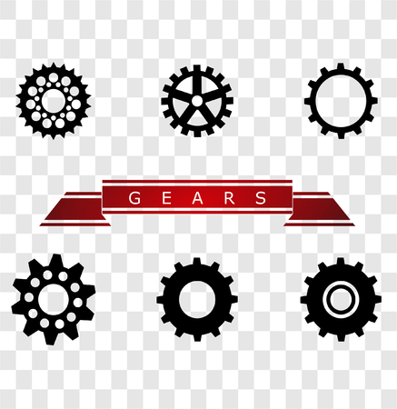 automotive industry: Kinds of Gears Illustration