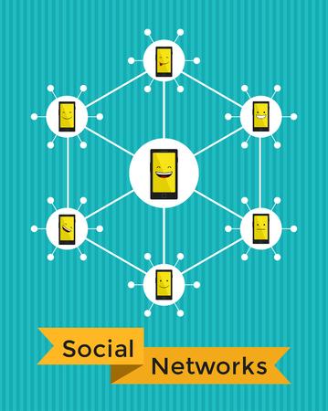 emot: Social Networks Illustration
