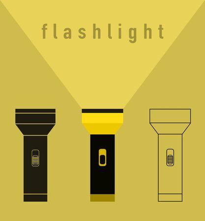 taschenlampe: Flashlight-Illustration