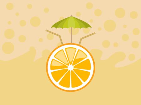 illustration: Orange Illustration  Illustration
