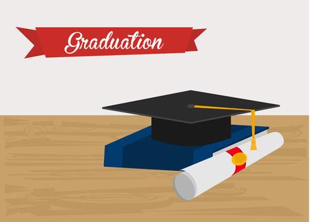gorro de graduacion: