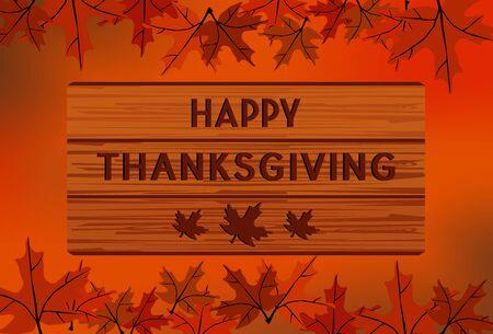 Happy Thanksgiving Ilustracja