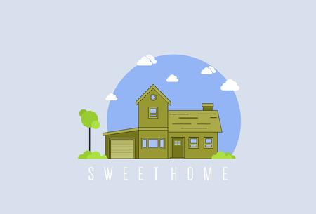 Sweet Home Illusztráció