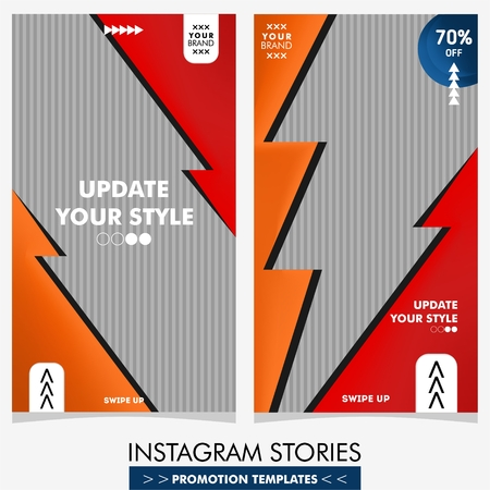 colorful fashion sale stories template