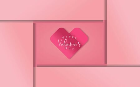 Happy valentine's day background with heart