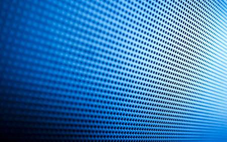 grid: Si tratta di una prospettiva ravvicinata di un moderno plasma tv oratore griglia. Quasi couldnt dire? Archivio Fotografico