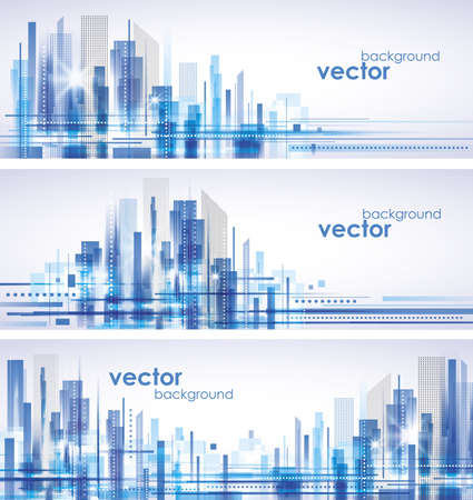 City Landscape Stock Vector - 14937319