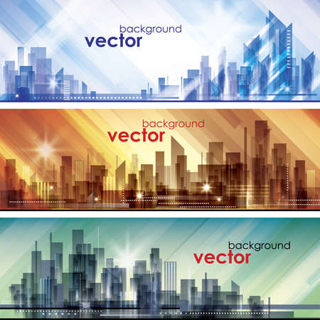 City Skylines Stock Vector - 14937320