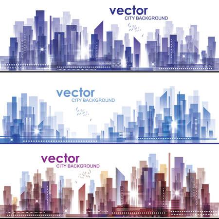 City Skylines Stock Vector - 14937317