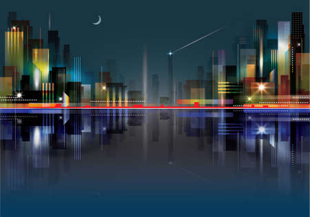 City Landscape at night