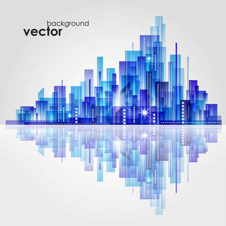 City Landscape Stock Vector - 15173196