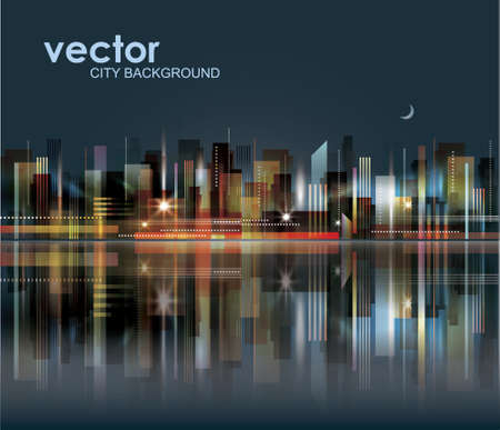 City Landscape Stock Vector - 15173236