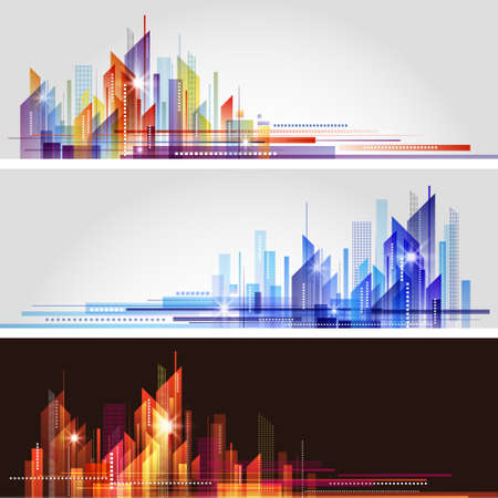 City Landscape Stock Vector - 15906137