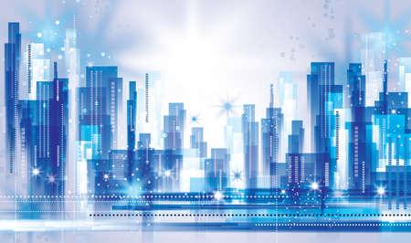 épület: Város Tájkép