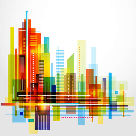 Modern Cityscape Vectores