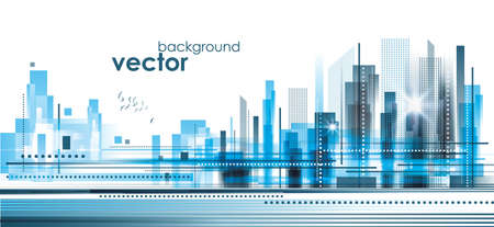 City Landscape Stock Vector - 17063780