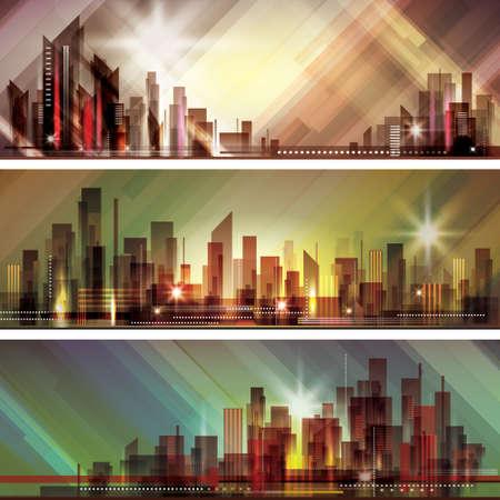 urban scene: City skyline