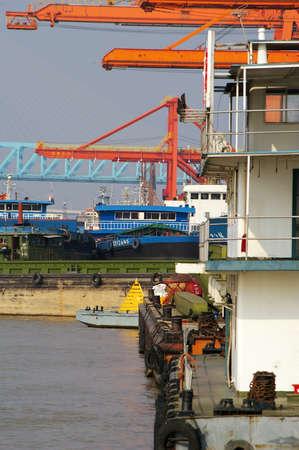 crane at a port
