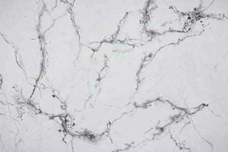 Textur weißer Marmor gemalt. Künstlerische Wandfarbe.