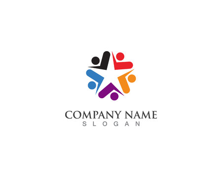 people community logo and vector design