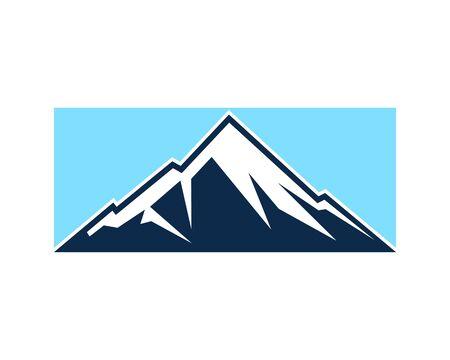 Mountain Logo icon Business Template Vector