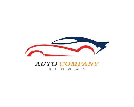 Auto car logo template vector icon Illustration