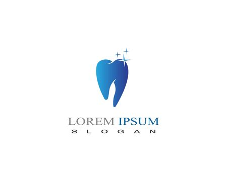 Dental care logo vector design element clinic