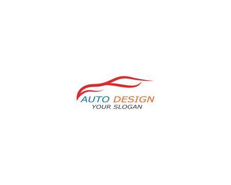 Auto car Logo Template vector icon