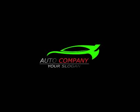 Auto car logo inspiration template design