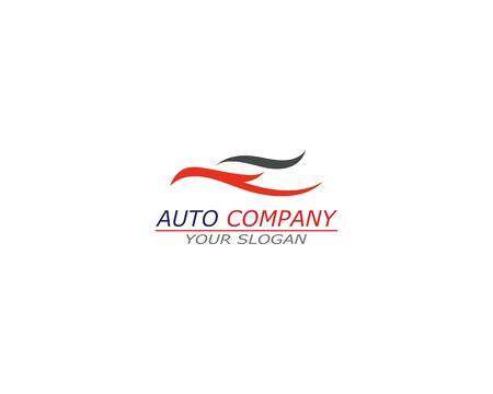 Automotive car Logo Template vector icon Vettoriali