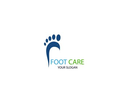 Foot Massage Logo Template Design Vector, Emblem, Design Concept, Creative Symbol, Icon Stock Vector - 128502957