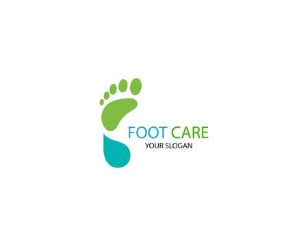 Foot Massage Logo Template Design Vector, Emblem, Design Concept, Creative Symbol, Icon Stock Vector - 128502967