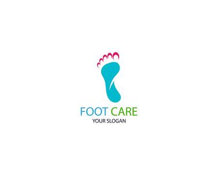 Foot Massage Logo Template Design Vector, Emblem, Design Concept, Creative Symbol, Icon Stock Vector - 128502965