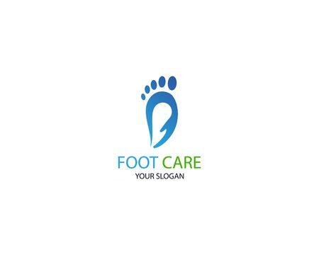 Foot Massage Logo Template Design Vector, Emblem, Design Concept, Creative Symbol, Icon Stock Vector - 128502972