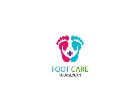 Foot Massage Logo Template Design Vector, Emblem, Design Concept, Creative Symbol, Icon Stock Vector - 128503372