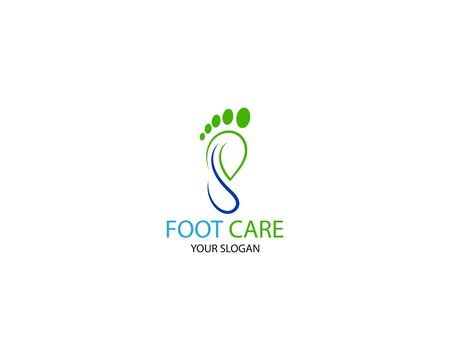 Foot Massage Logo Template Design Vector, Emblem, Design Concept, Creative Symbol, Icon Stock Vector - 128503416