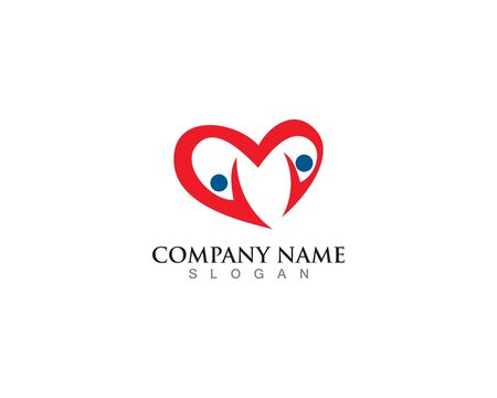 People community logo and vector template design