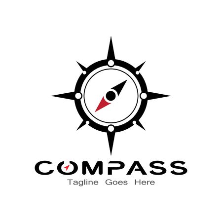 compass logo, icon and symbol. ilustration design template Banco de Imagens - 131772439