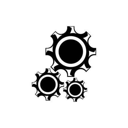 Gear Logo creative Template vector icon illustration design
