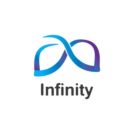 Infinity logo design inspiration vector illustration template Stock fotó - 133838689