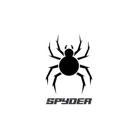 Spider Logo design vector illustration design template