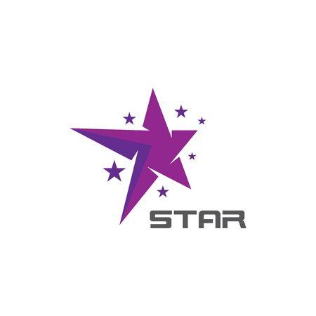Corporate business star logo vector icon concept illustration Illustration